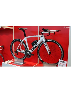 All Ceepo's bikes are designed by hand and feature triathlon-specific geometry