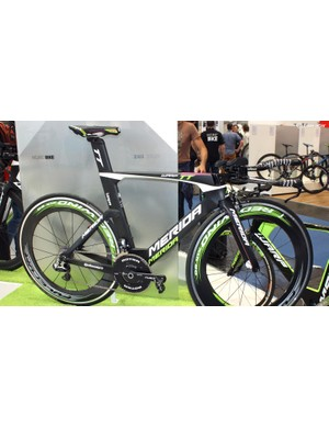 The original Warp TT was also on show at Eurobike