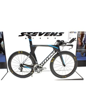 Stevens' Super Trofeo looks identical to Vitus' Chrono II TT bike