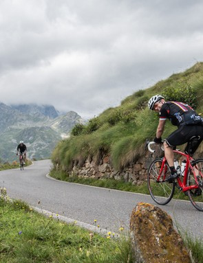 Passo di Gavia, coming as it did as the final climb of stage 3, proved arguably the toughest test of the week
