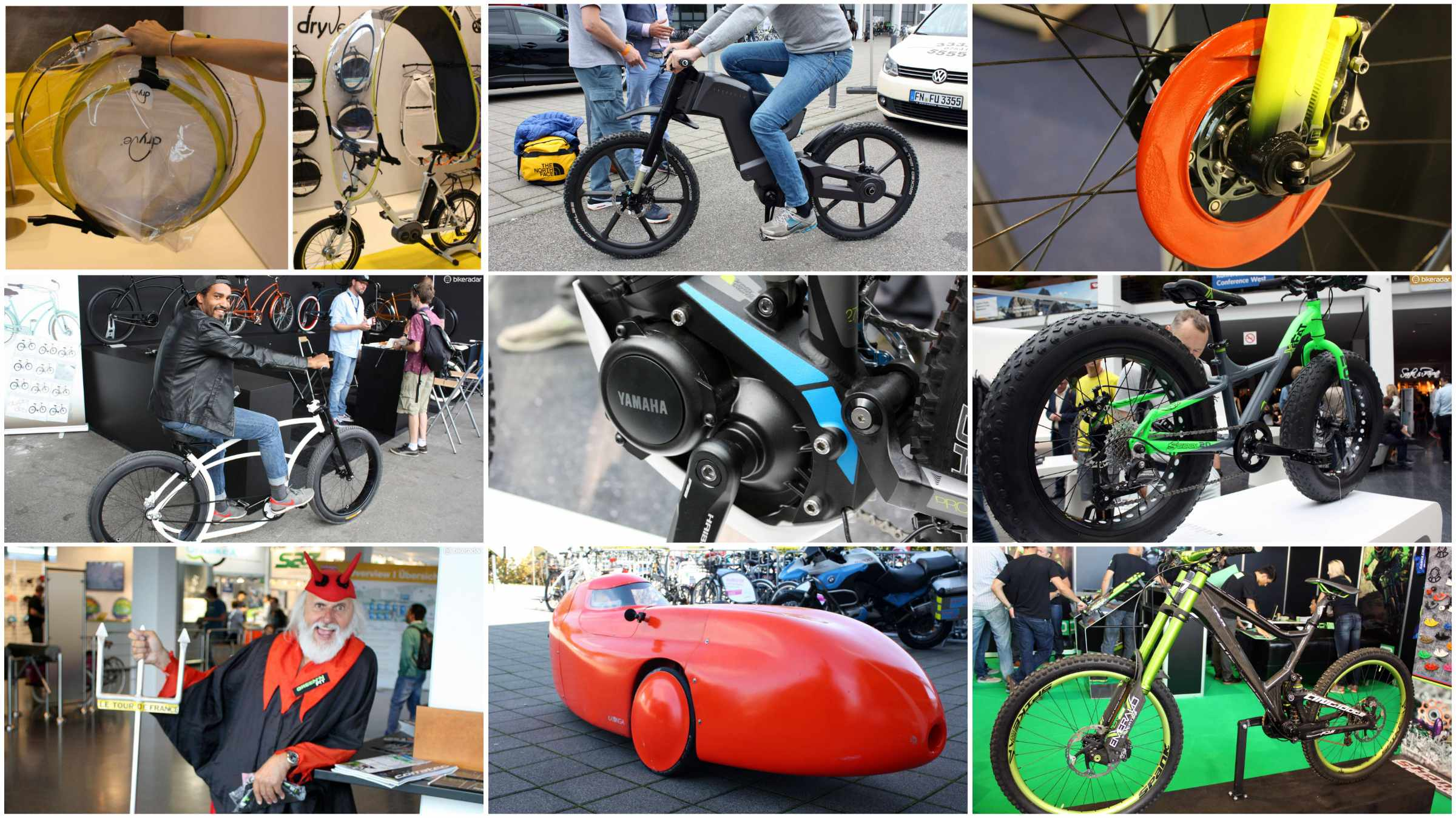 A small selection from the weird and wonderful world of Eurobike