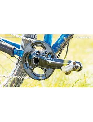 SRAM's X01 11-speed kit is perfect for the ROS 9