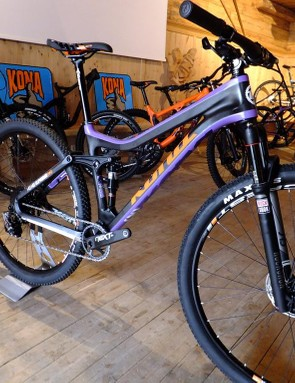 Not much has changed with the XC-orientated HeiHei extreme - we just loved the colourway
