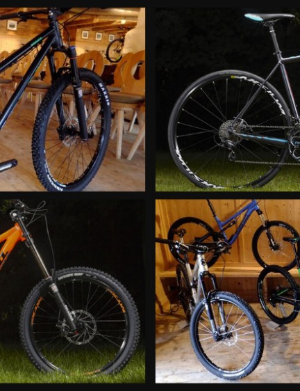 Kona 2015 mountain bikes and road bikes