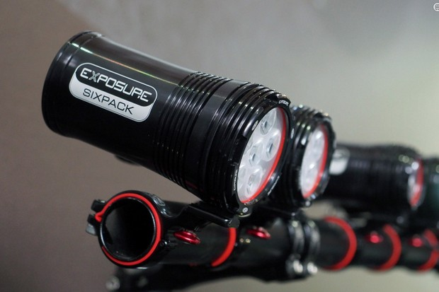 Exposure's top-end Six-Pack mountain bike light now pumps out up to 3,200 lumens in a compact, all-in-one aluminum housing