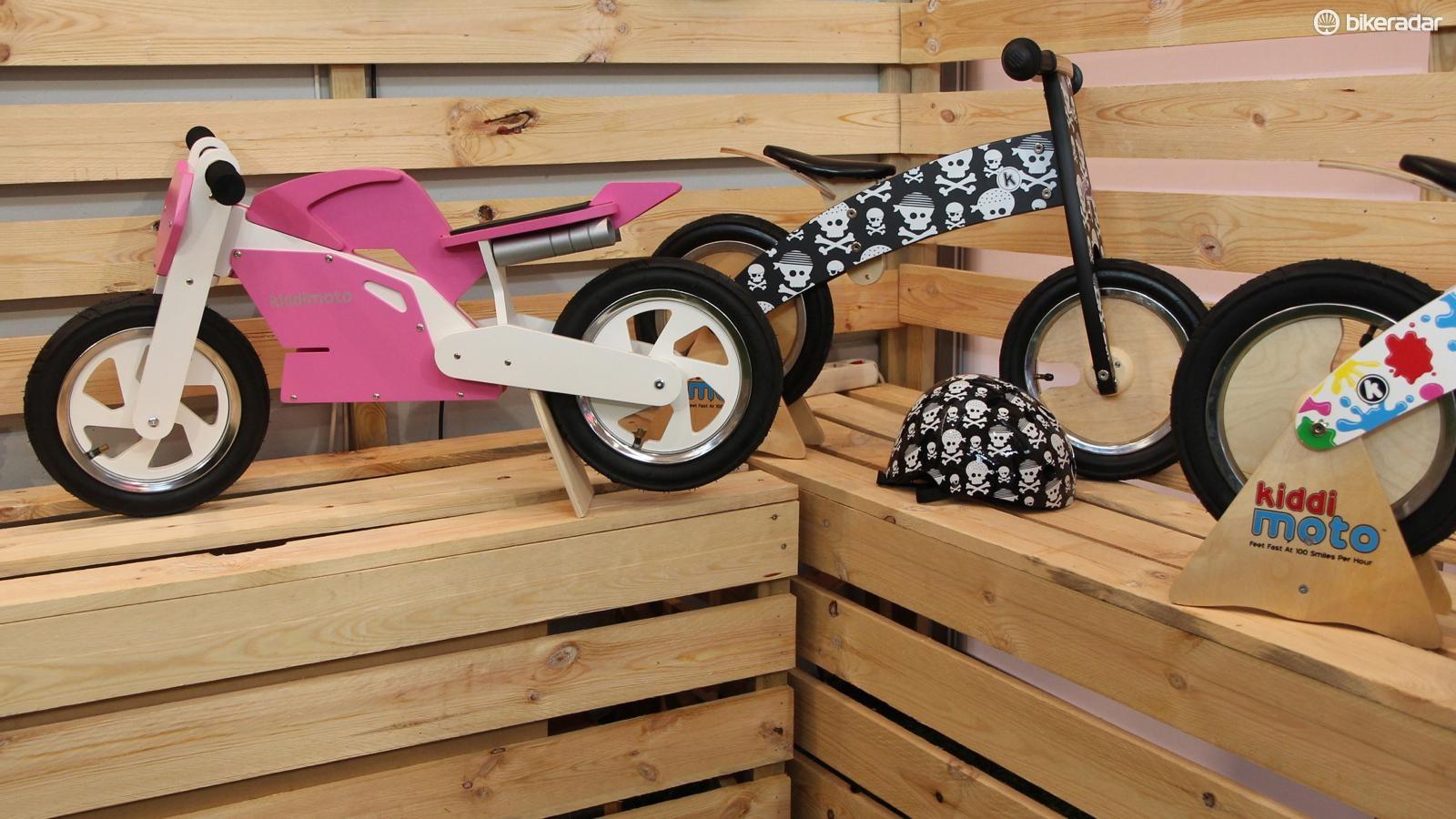 Kiddi Moto has a huge variety of kick bikes