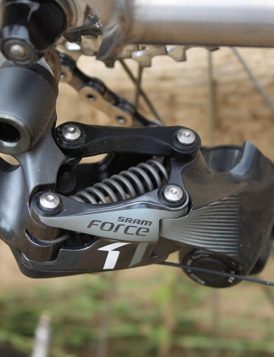 The CX1 is basically SRAM's XX1 derailleur slightly tweaked for cyclocross