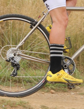 The 11-32t proved to be plenty of gear for both 'cross racing and even road rides with significant elevation gain