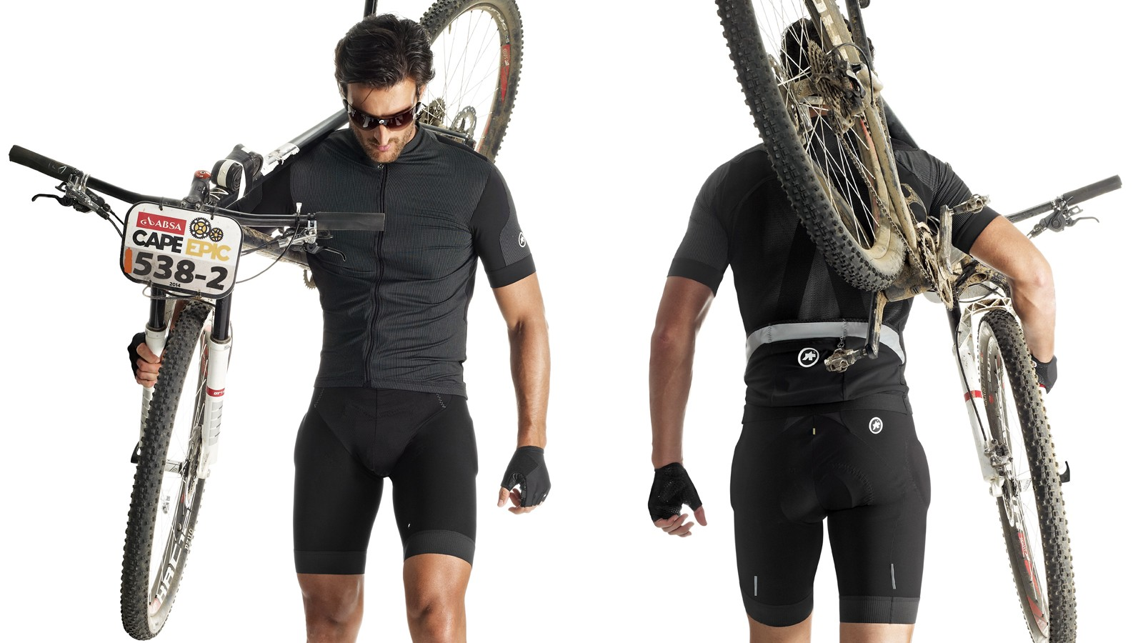 The construction of Assos SS.RallyTrekkingJersey_Evo7 is quite intricate, consisting of six different fabrics and 25 patterns