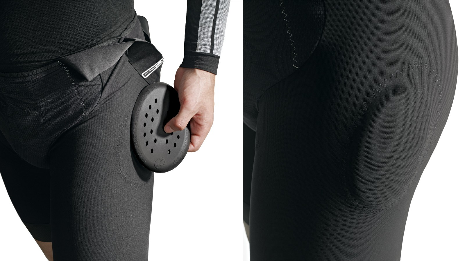 T.Rally Shorts_s7 bib shorts have removable hip pads made from polyurethane foam
