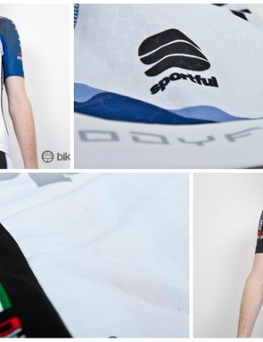 A look into the custom clothing that's proven by the Tinkoff-Saxo WorldTour team