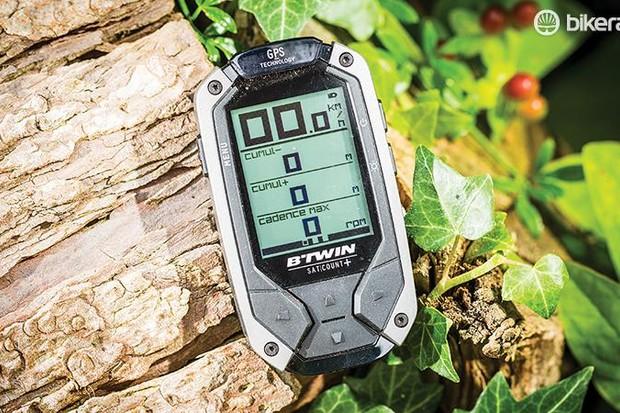 B'Twin GPS SatCount+