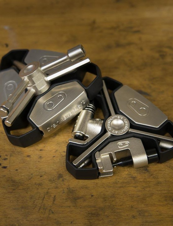 The Y12 and Y16 tools from Crankbrothers are packed with tools and out this October