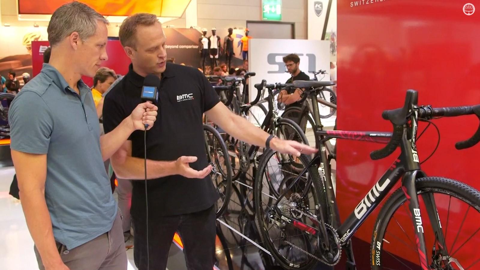 BMC talk to BikeRadar's Ben Delaney about their 2015 road range