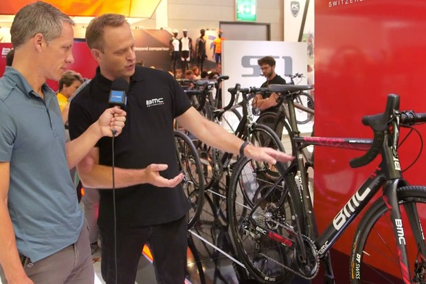 BMC talk to BikeRadar's Ben Delaney about their 2015 road range