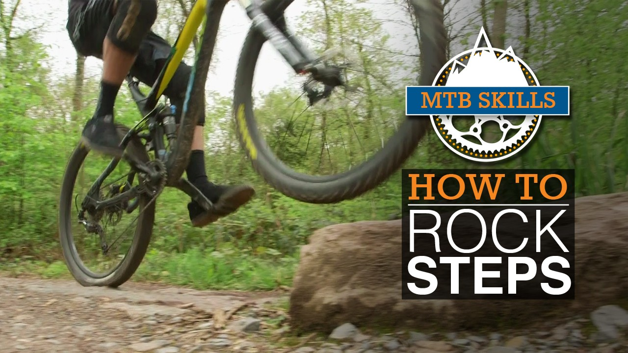 Watch our video on how to tackle rock steps