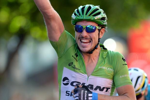 John Degenkolb (Giant-Shimano) took the stage 12 victory