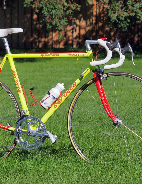 Serotta custom-built these Colorado II steel road bikes for the Coors Light team in the early 1990s