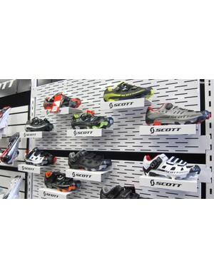 Scott's 2015 MTB shoe range