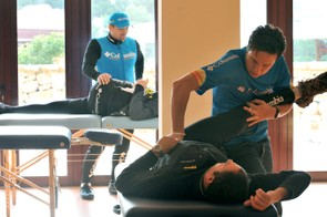 Physio sessions are recommended too