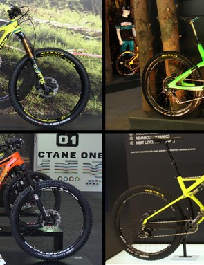 Nearly every company at Eurobike was highlighting its 2015 range of trail and enduro bikes