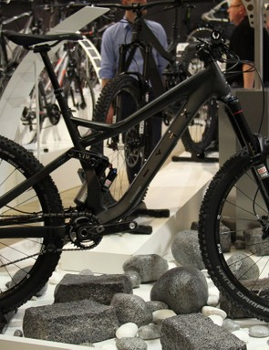 German bike brand Conway was showing off its new WME 1027 Carbon enduro race bike