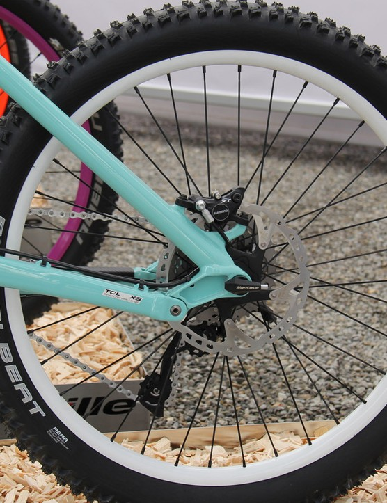Nope, this is not a kid's bike: extra small Litevilles get 24in rear wheels