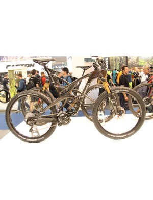 The Polygon Collosus T8 is a 140mm trail bike built around the same suspension system as the longer travel Collosus N9