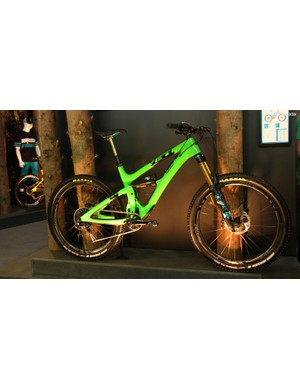 Yeti used Eurobike as the official unveiling of the new SB6c