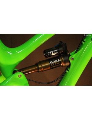 A Fox Float X CTD shock provides the SB6c with 157mm of rear wheel travel