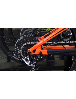 Transition has moved to a Horst-Link suspension design