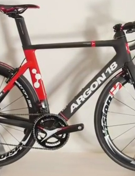 The Argon 18 Nitrogen was one of the most impressive aero road bikes on show