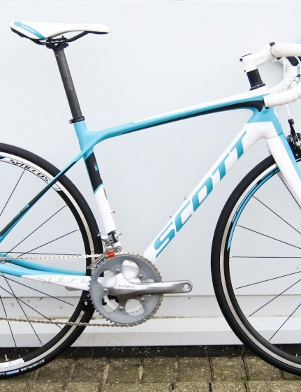 The Contessa Solace 35 has women-specific geometry and a Shimano Tiagra groupset