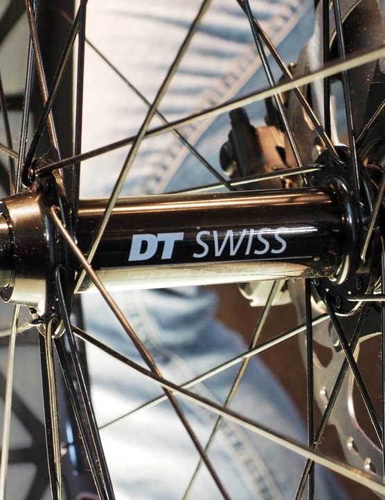 Although details are scant at the moment, the new DT Swiss BR 2250 Classic fat bike wheels look to be built around a variant of the company's 240s Center Lock hubs