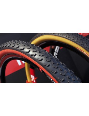 Also new from Challenge is the MTB Two tubular mountain bike tyre, which features what looks to be a much more useful and versatile tread than the MTB One