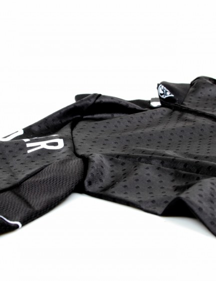 A closer look at the ventilated material used on the Attaquer NormCore jersey