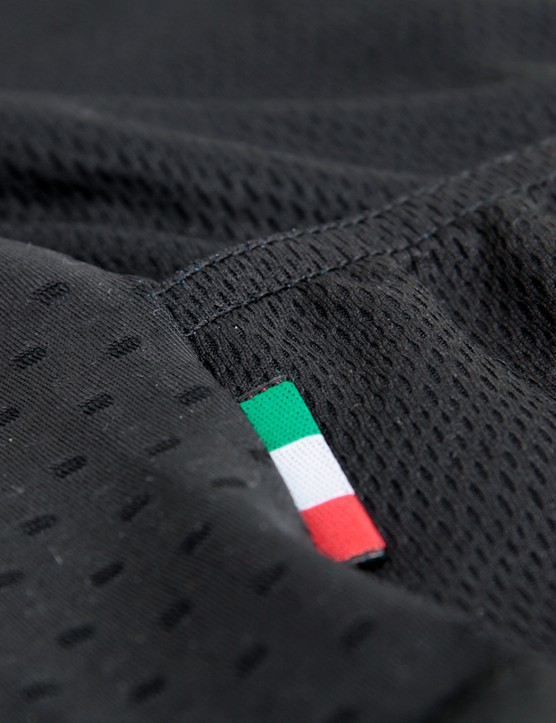 Attaquer's clothing is made in Italy