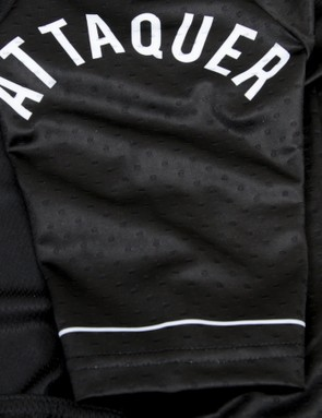 The Attaquer NormCore jersey is also available in white, pink and blue