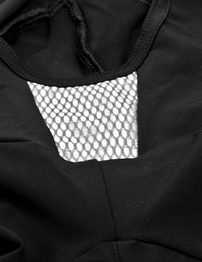 The bibs feature a diamond panel at the belly button. Why? Why not, says Attaquer
