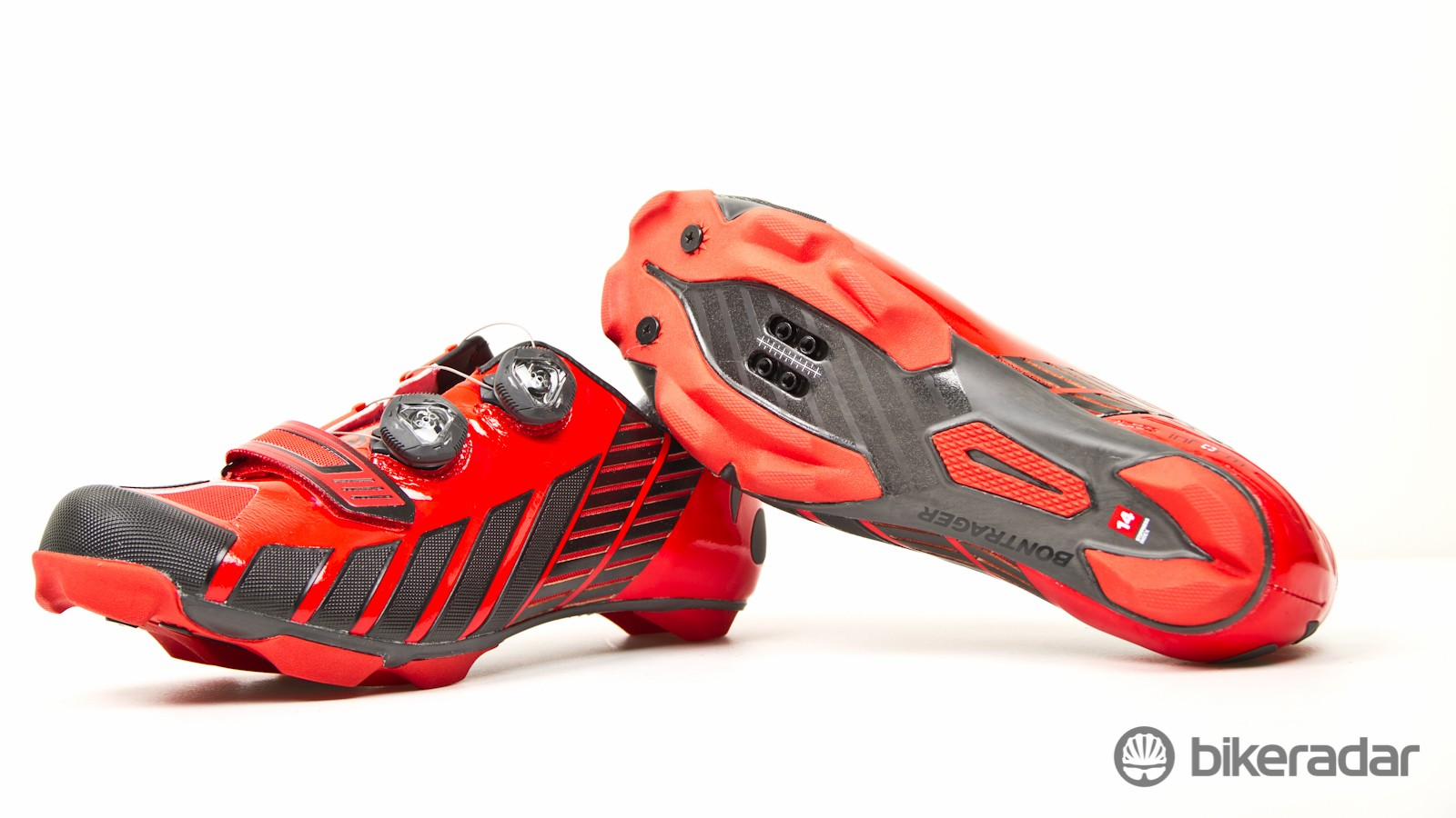 They're not in shops yet, but the Bontrager XXX MTB shoes signal a new level of racing shoe for the American brand