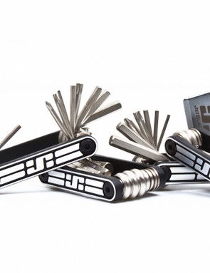 The JetBlack multi-tool range consists of the 6, 10, 13 and the 20. All feature an anodised aluminium frame and chrome vanadium tool bits