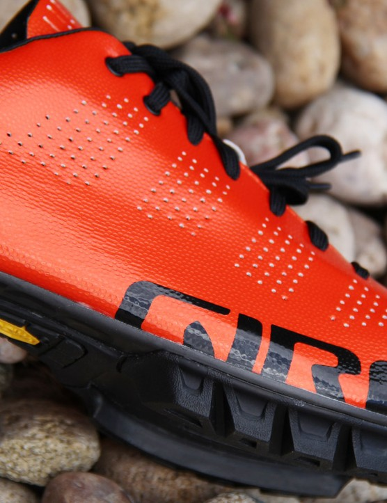 The lugs are constructed from Vibram rubber