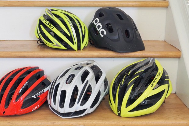 All of these helmets are size 'small' but they all fit differently. If you're only looking at the label, though, how is one to know how it's actually going to feel on your head?