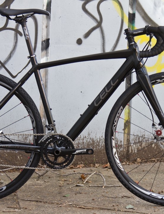 The 2015 Cell Brunswick, a high-value, brand-direct cyclocross bike in Australia
