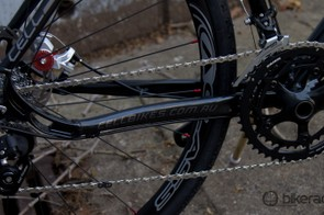 SRAM 10-speed shifting and Avid BB5 mechanical disc brakes finish off the Cell Brunswick