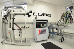The testlab is clinically clean, as you'd expect