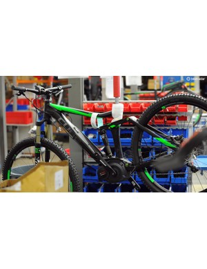 The e-bikes have a separate assembly line as they take a lot more time and expertise to build perfectly