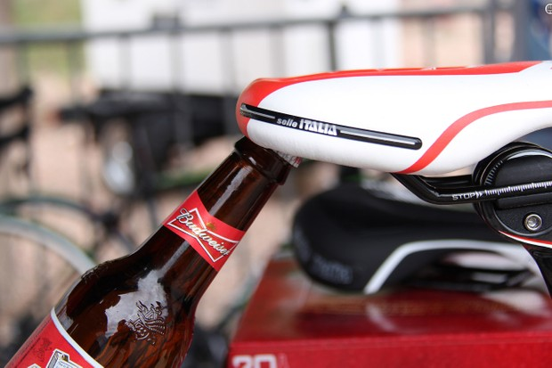 The new Selle Italia Butcher comes equipped with a bottle opener for post-ride refreshments