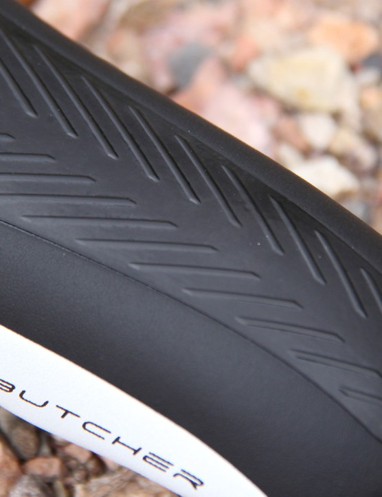 Selle Italia calls its textured anti-slip covering herringbone