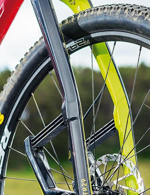 BikeRadar's testers can't remember another piece of kit getting the amount of attention lavished on the Lauf –everyone passing wanted to give it a squeeze!